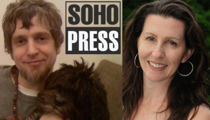 Photos of Editorial Director of Soho Teen Daniel Ehrenhaft and Soho publisher Bronwen Hruska